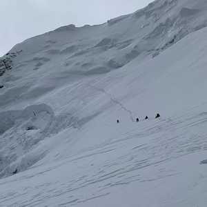 Нирмал Пуржа рассказывает о открытии им нового маршрута на вершину восьмитысячника Шишабангма