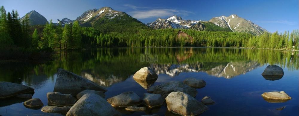 озеро Штрбске-Плесо, Словакия, Высокие Татры