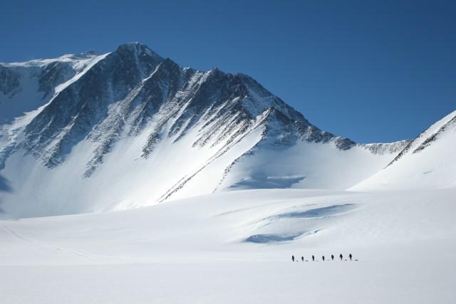 массив Винсон - высочайшая точка Антарктиды