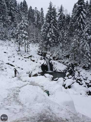 Казкова погода на Водопаді Камянка і ще немає туристів