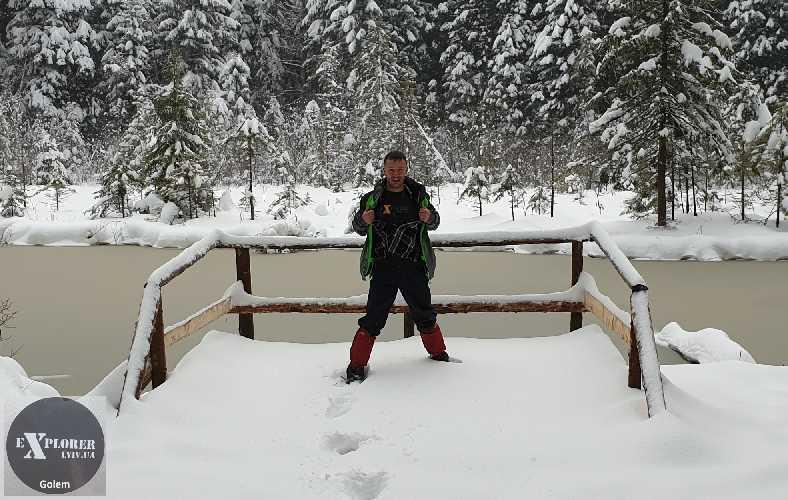 рідко коли можна зробити фото на озері Журавлине без нікого :)
