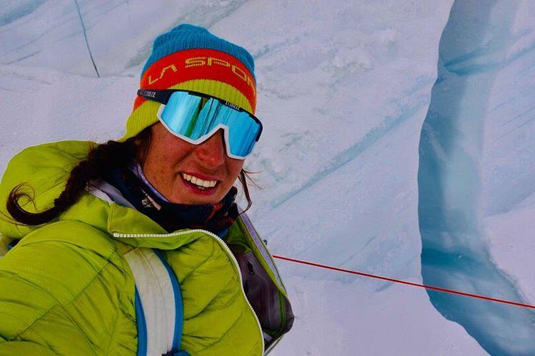 третий день работы на леднике Гашербрум. Фото Simone Moro, Tamara Lunger
