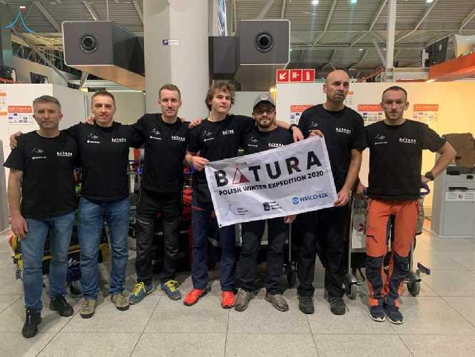 Команда экспедиции на Батура Сар (Batura Sar)