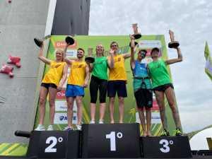 Одессит Константин Павленко завоевал золото на скалолазном турнире в Бразилии