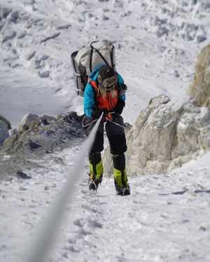 Зимняя экспедиция Дениса Урубко на Броуд-Пик: работа над маршрутом к третьему лагерю