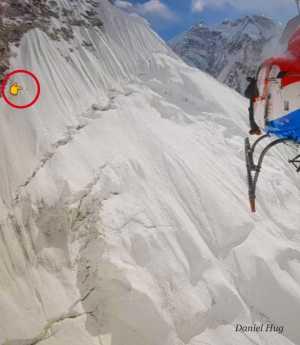 Фото дня: один на Эвересте
