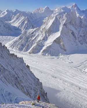 Зимняя экспедиция Дениса Урубко на Броуд-Пик: выход на 6650 метров при -52 градусах Цельсия!