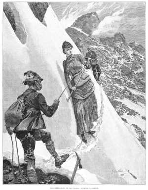 Фото дня: на заре альпинизма