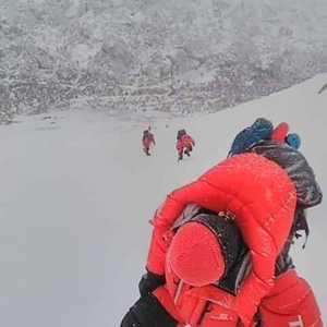 Зимний сезон на К2: Заброска на 5600 метров