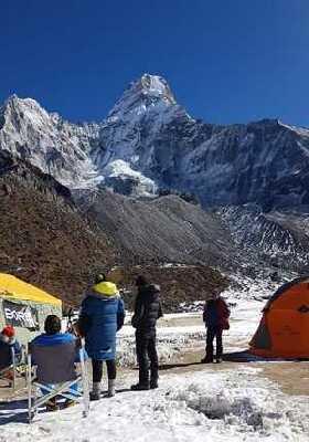 Зимняя экспедиция на Эверест Алекса Тикона: есть вершина Ама-Даблам!
