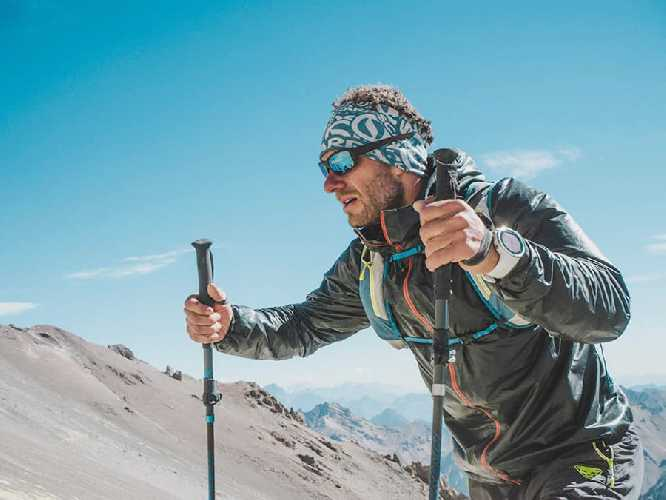 Мартин Згорж (Martin Zhor) в забеге на вершину Аконкагуа