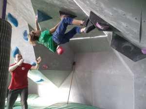 В Каменце-Подольском состоялись первые в 2020 году молодежные соревнования по скалолазанию