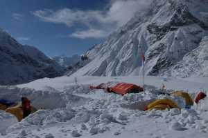 Зимняя экспедиция на вершину Батура Сар: работа над маршрутом к первому высотному лагерю