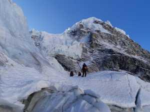 Зимняя экспедиция на Эверест Алекса Тикона: работа на ледопаде Кхумбу