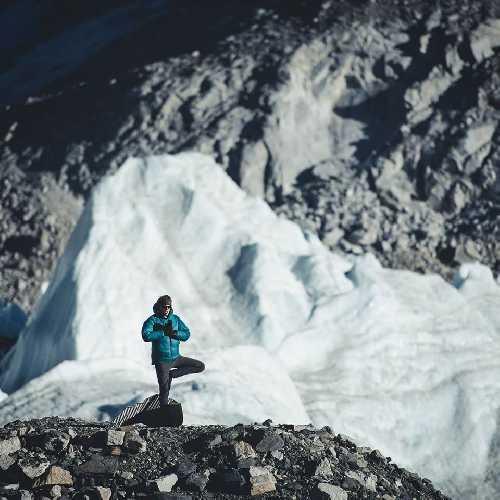 |Йошт Кобуш (Jost Kobusch) в базовом лагере Эвереста