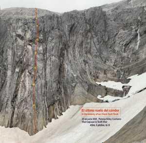 В память о погибшем товарище румынские альпинисты открывают новый маршрут в Чили