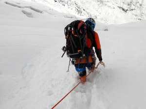 Зимняя экспедиция на вершину Батура Сар: плохая погода не пускает альпинистов на гору