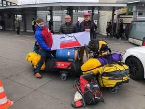 Польская команда на Митре Пик: старт экспедиции