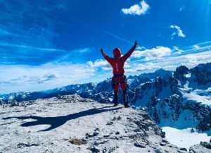 Симон Гитль совершает первое в истории зимнее соловосхождение по Tre Cime di Lavaredo в Доломитовых Альпах