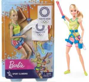 Кукла Барби - скалолазка. Анонсирован выпуск специальной серии кукол к Олимпиаде в Токио 2020 года
