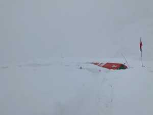 Зимняя экспедиция на вершину Батура Сар: непогода вновь прервала планы команды