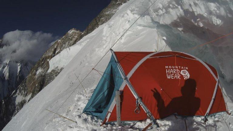 Лагерь на 7000 метров на Броуд Пик. Фото Денис Урубко