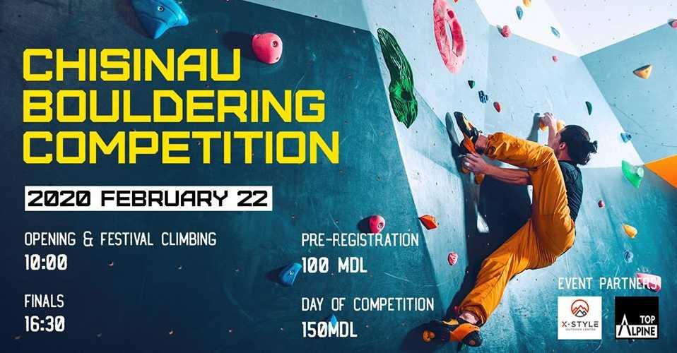 Chisinau Bouldering Comp 2020