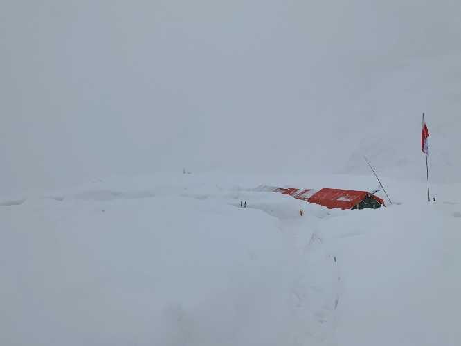 Базовый лагерь у вершины Батура Сар (Batura Sar). Фото Oswald Rodrigo Pereira