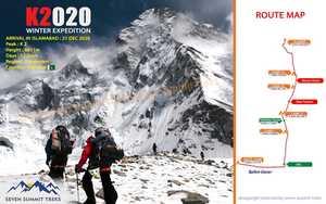 Команда Seven Summit Treks объявляет о зимней экспедиции к восьмитысячнику К2 в сезоне 2020/2021 года