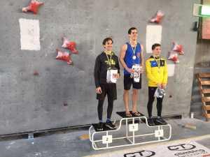 В Крменчуге завершился студенческий Чемпионат Украины по скалолазанию