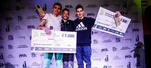 Киевлянин Сергей Топишко выиграл крупнейшие в мире международные соревнования по боулдерингу Studio Bloc Masters