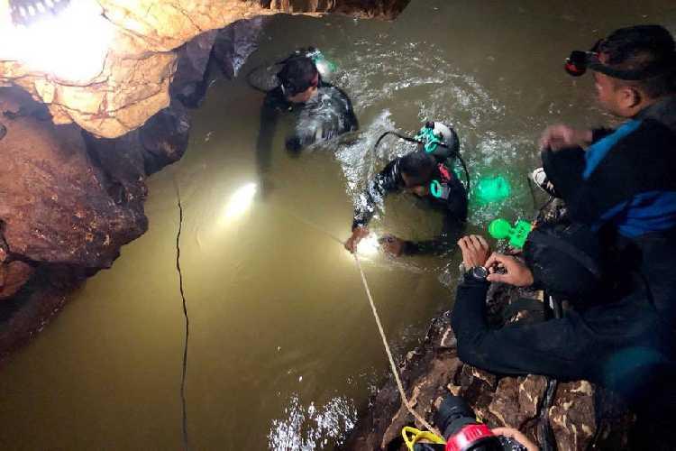 спасательная операция, осуществленная в тайской пещере Тхам Луанг нанг Нон (Tham Luang Nang Non cave) летом 2018 года