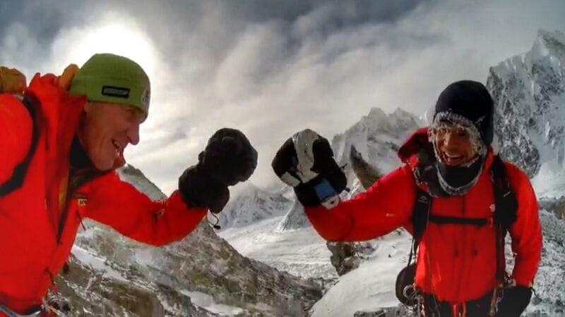 Дон Боуи (Don Bowie) и Денис Урубко: прокладка маршрута на зимнем восьмитысячнике Броуд-Пик до 6200 метров