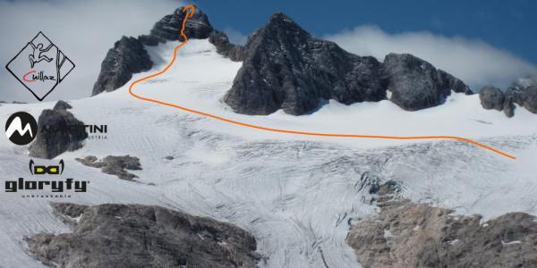 Маршрут на вершину горы Дахштайн (Hoher Dachstein, высотой 2995 метров)