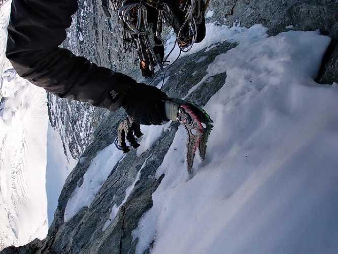восхождение по маршруту Шмидта (Schmid route) по северной стене Маттерхорна. Фото Иван Бандривский, Игорь Бабенчук