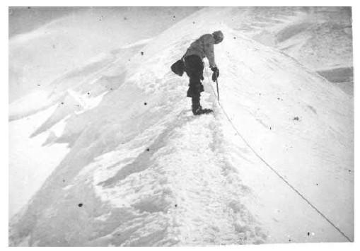 Во время восхождения на Монблан. Фото 100krokiv . info