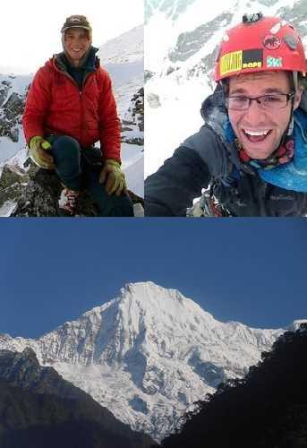 Ник Айелло-Попео (Nick Aiello-Popeo) и Джастин Гуаринo (Justin Guarino), Ганеша (Yangra / Ganesh I, 7422 метров) в Непале