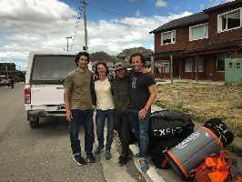 Роджер Шали (Roger Schäli) и Йонас Шильд (Jonas Schild) в Патагонии. Фото Roger Schäli и Jonas Schild
