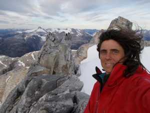 Испанская альпинистка Сильвия Видаль открывает первый маршрут на западной стене Серро Чилино Гранде в чилийской Патагонии