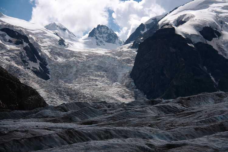 Ледник  Мортерач в Швейцарии. Фото Università Bicocca