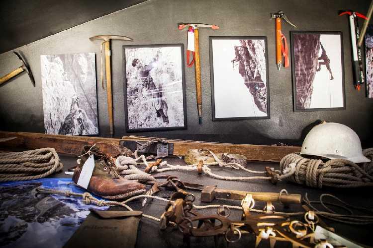 В музее гор Месснера. Фото Francesco Rucci