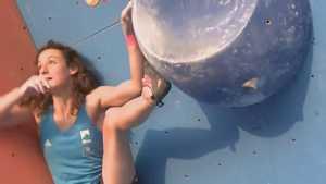 Подборка лучших моментов скалолазных соревнований