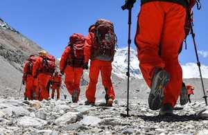 Третья попытка штурма Эвереста состоится 22 мая