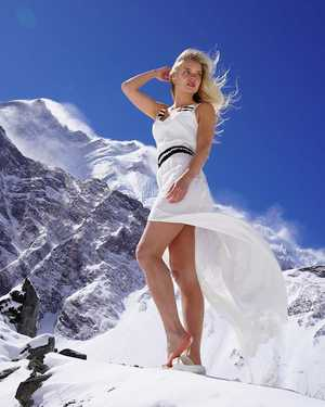 Лотта Някювя: от подиума фотомодели до высочайших вершин мира