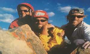 """Забытое первовосхождение: самый сложный маршрут Монголии """"The Bombadorj Arete"""", 2002 год"""