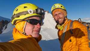 Новый маршрут на пик Труд, 4635 м
