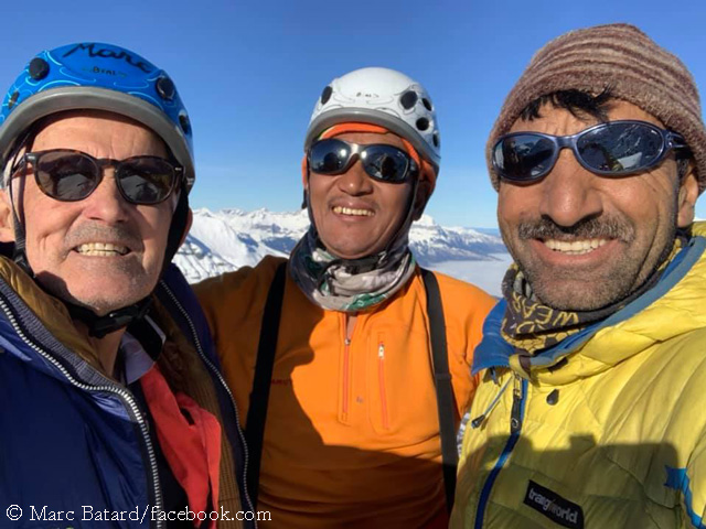 """Марк Батар: """"я в отличной форме чтобы в 70 лет подняться на Эверест"""""""