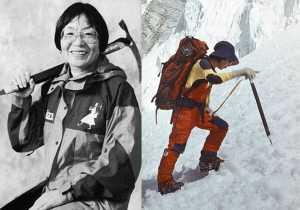 Дзюнко Табэи - первая женщина, ступившая на вершину Эвереста
