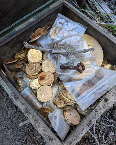 сокровище было найдено в канадских Скалистых горах