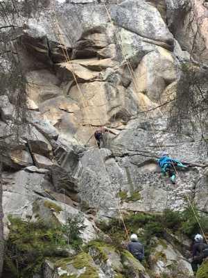 В коростышевском карьере пройдет Чемпионат Киева по технике альпинизма на естественном рельефе